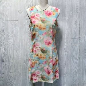 🦄 XOXO Floral Pastel Colored Shift Dress ~ 11